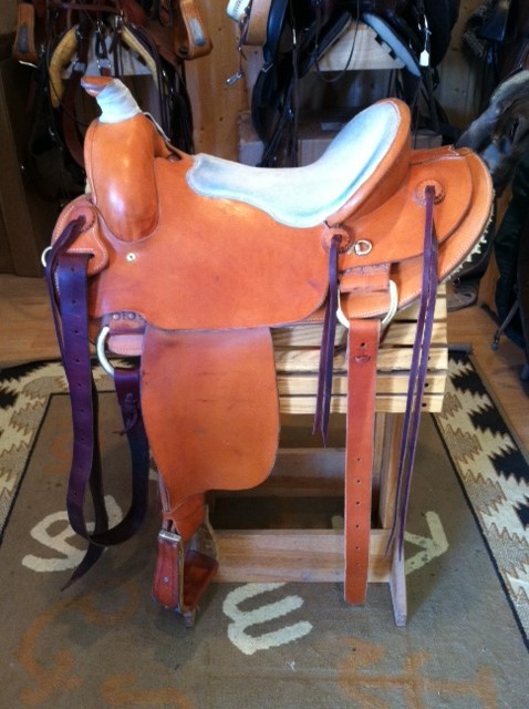 Beall Western Saddle