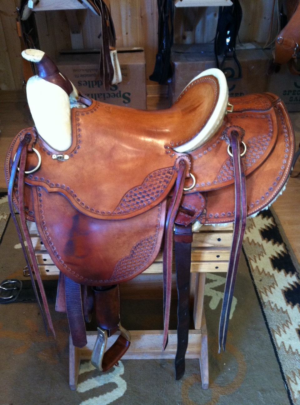 Beall Endurance-Western Saddle
