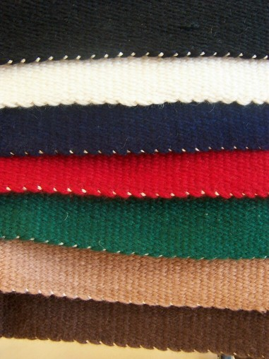 Contoured Saddle Blanket - Solid Color