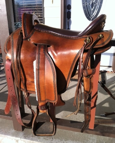 Timberline Lawman Saddle